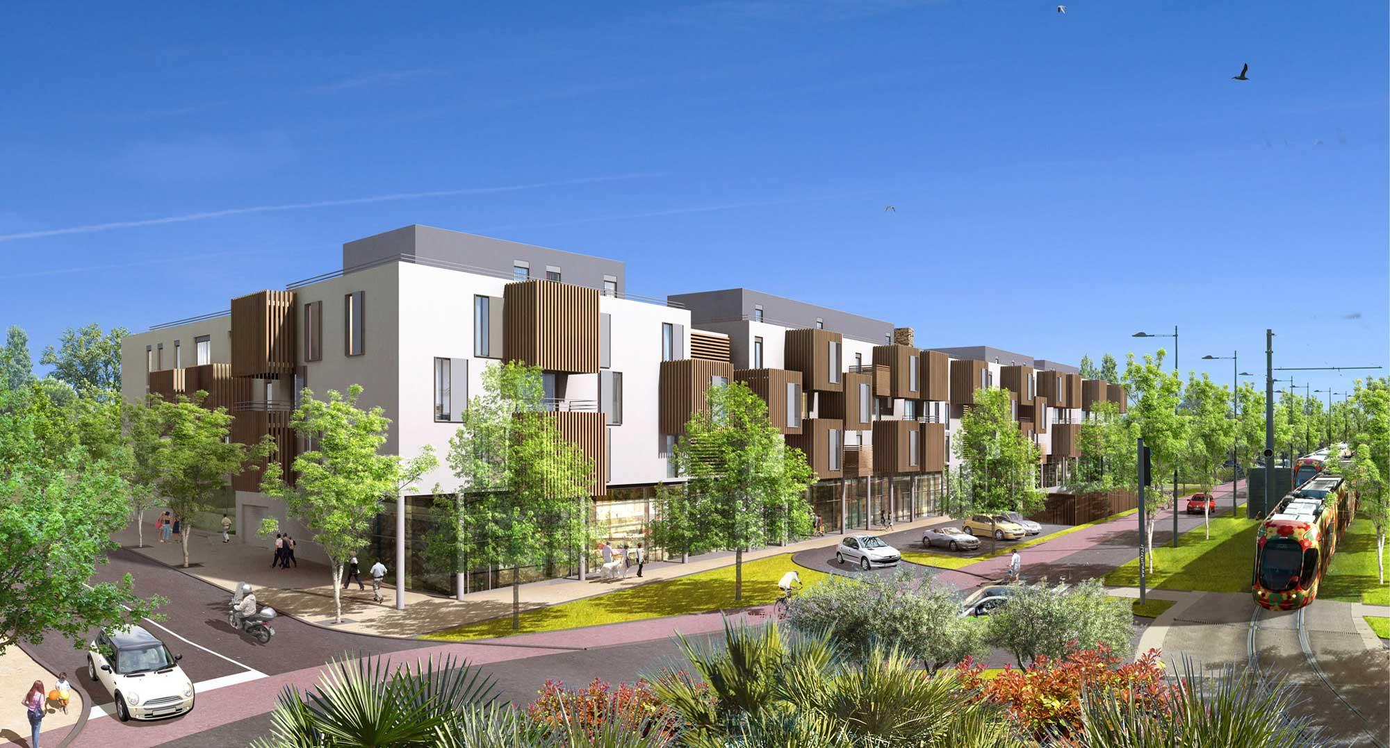 Achat appartement neuf castelnau le lez dans la r sidence for Architecte aube