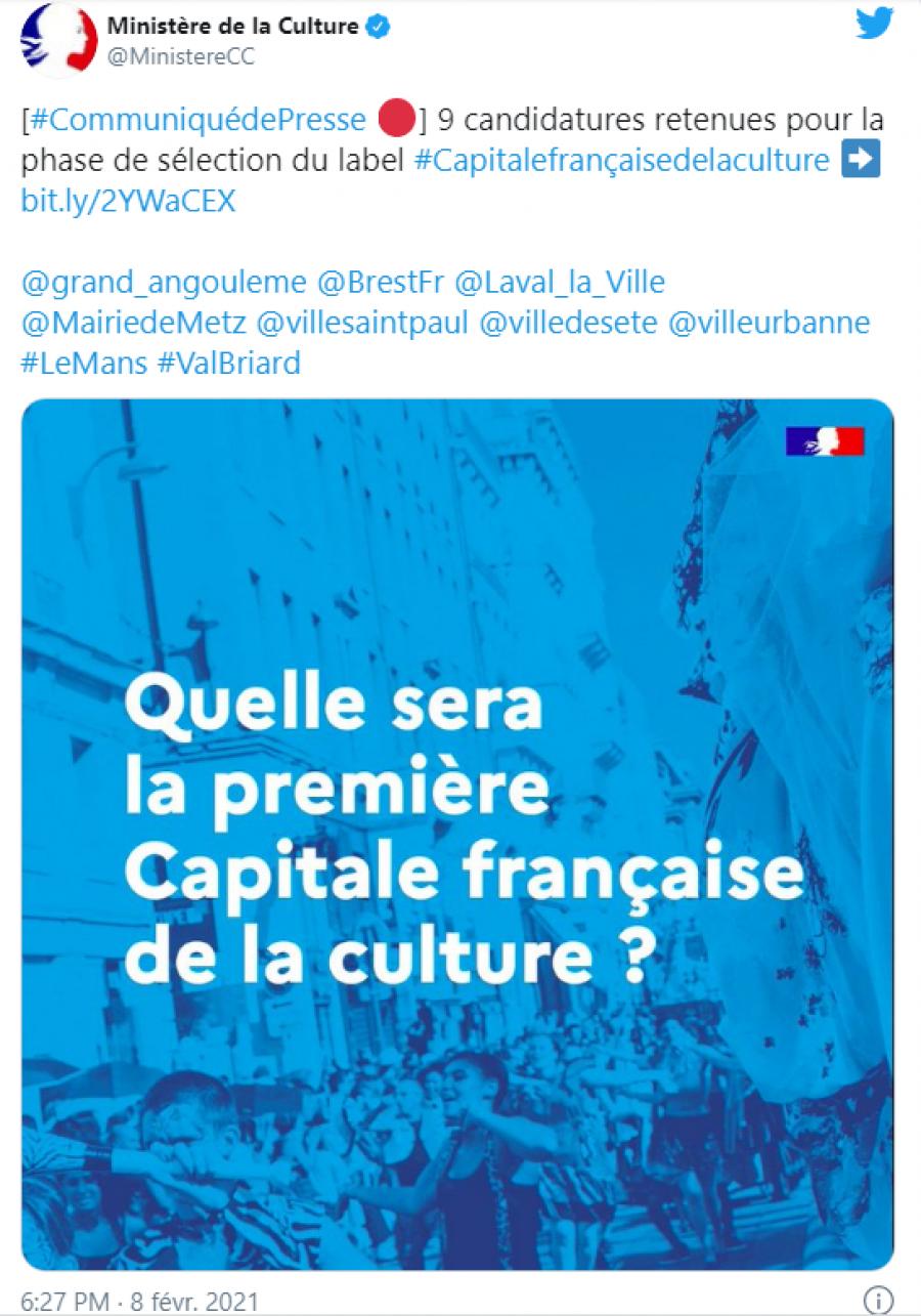Sète, candidate pour devenir la première capitale française de la culture en 2022